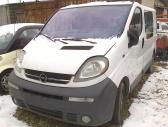 Opel Vivaro dalimis. metalo g.2c 8610 99230