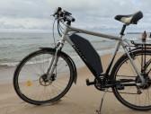 -Kita- Elektrinis dviratis iš paprasto Elektriniai