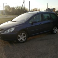 Peugeot 307 Universalas 2003 Dyzelinas