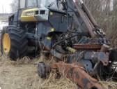 Kita Harvesterių-forvarderių naudotos dalys